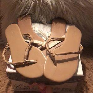 2 pairs of Charlotte Russe flip flops